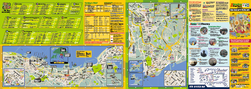 Hong Kong Attractions Map What are the main attractions in Hong Kong